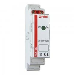 Leuchtmelder 1 Phasen grün Kontrollleuchte Phasenprüfer LED RLK-1G Relpol 8759