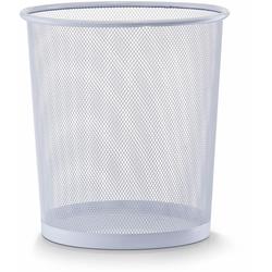 Zeller Present Papierkorb weiß Büroaccessoires Wohnaccessoires