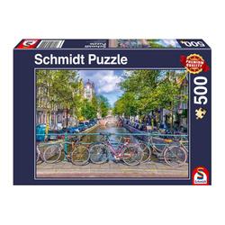 Schmidt Spiele Puzzle Amsterdam, 500 Puzzleteile