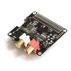 HiFiBerry DAC+ ADC, Soundkarte für Raspberry Pi mit Ein-/Ausgang