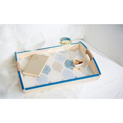 VBS Tablett, Kiefernholz, 49,5 cm x 8 cm