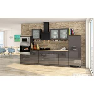 k chenzeilen mit elektroger ten preisvergleich. Black Bedroom Furniture Sets. Home Design Ideas