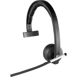 Logitech Mono H820e PC-Headset USB, 2.4GHz Funk Mono, schnurlos On Ear