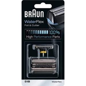 Braun 51B Kombipack 8000 Scherfolie und Klingenblock Schwarz 1 Set