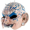 infactory Dämonen-Halbmaske aus Latex