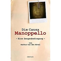 Die Causa Manoppello. Markus van den Hövel  - Buch