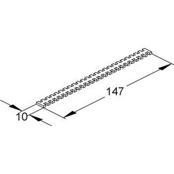 Niedax Drahthaltebrücke VHB 150