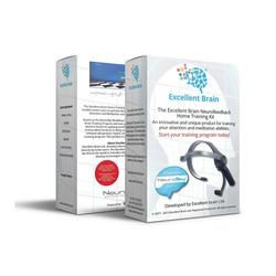 Excellent Brain Excellent Brain ADHS Neurofeedback Set Bluetooth-Kopfhörer