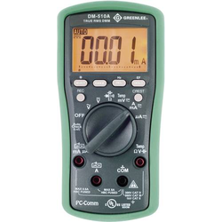 Greenlee DM-510A Multimeter, TRMS,AC/DC