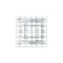 Nachtmann Square Geschirr Platte 28 cm klar quadratisch