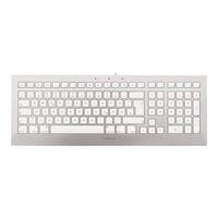 Cherry STRAIT 3.0 for MAC DE weiß/silber (JK-0370DE)