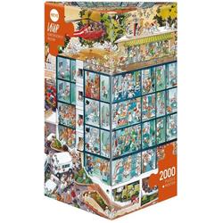 HEYE Puzzle Emergency Room, Loup, 2000 Puzzleteile
