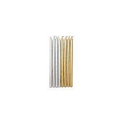 Rico-Design Verlag Formkerze Kerzen Gold und Silber