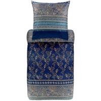 BASSETTI Matera blau 155 x 220 cm + 80 x 80 cm
