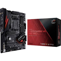 Asus ROG Crosshair VII Hero (WI-FI) Mainboard Sockel AMD AM4 Formfaktor ATX Mainboard-Chipsatz AMD®