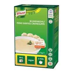 Knorr Blumenkohl/ Freine Karfiol Cremesuppe