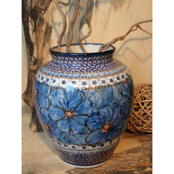Vase, Höhe 20 cm, Unikat 4, Bunzlauer Keramik - BSN 5121