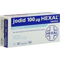 Hexal JODID 100 HEXAL Tabletten