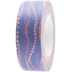 Tape Wellen Blau/Rosa