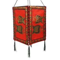 Guru-Shop Deckenleuchten Lokta Papier Hänge Lampenschirm, Deckenleuchte.. 18 cm x 28 cm x 18 cm
