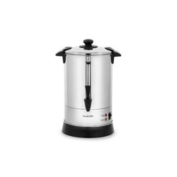 Klarstein Filterkaffeemaschine Excelsa Rundfilter-Kaffeemaschine, 30 Tassen, Zapfhahn, Edelstahl, 0l Kaffeekanne
