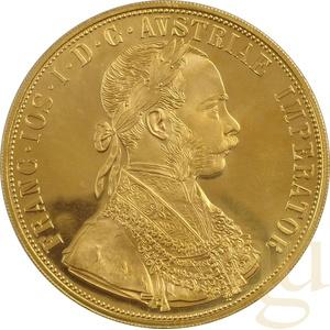 4 Dukat Goldmünze Österreich