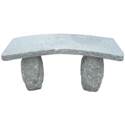 Dehner Gartenbank 2-Sitzer, 100 x 40 x 45 cm, Granit, grau