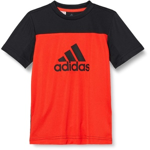 adidas Jungen Equipment T-Shirt, Hirere/Black/Black, 164