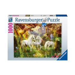 Ravensburger Puzzle Einhörner im Herbst, 1.000 Teile, Puzzleteile