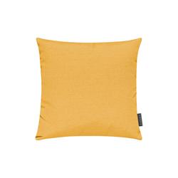Magma Kissenhuelle Fino in gelb, 40 x 40 cm