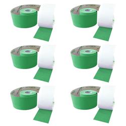 SFM ® Kinesiologische Tapes : cotton in Papierbox 5cmx5m grün (6)