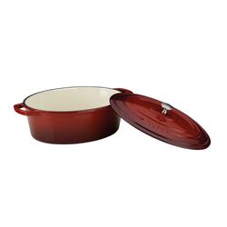 Kela Bräter Calido in rot/oval, 6,5 l