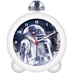 Star Wars Wecker mit Sound und leuchtender Figur, R2D2