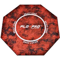 Florpad FM_Beast Fußbodenschutz Rot, Orange