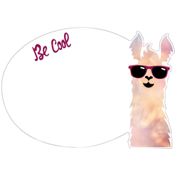 MySpotti Wandsticker Be cool (1 Stück), mit Whiteboard-Oberfläche