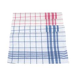 Geschirrhandtücher »Dessin 300« im 10er-Pack blau, Meiko, 50 cm