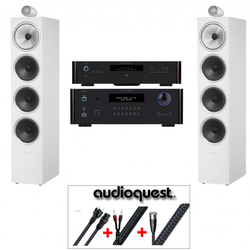 B&W 702 Rotel Audioquest Testsieger Paket