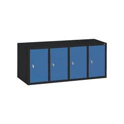 CP Aufsatzschrank Aufsatzschrank, Tür einwandig glatt blau 119 cm x 50 cm x 50 cm