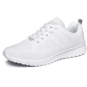 XPERSISTENCE Sport Tennisschuhe Herren Damen Laufschuhe Sneakers Turnschuhe Fitness Gym Leichtes Bequem Schuhe (Weiß-LHA081, 42)