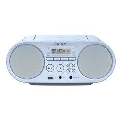 Sony ZS-PS50 Boombox (AM-Tuner, FM-Tuner, 4 W) blau