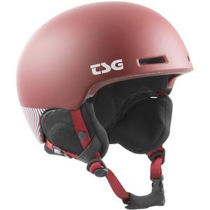 TSG Lotus Solid Color Helm, Dark Peach, L