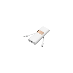 iWalk Secretary + Powerbank 20.000 mAh Quick Charge 3.0 Weiß
