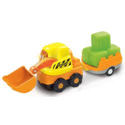 Vtech® Spielzeug-Bagger Tut Tut Baby Flitzer Bagger und Anhänger, (Set, 2-tlg)