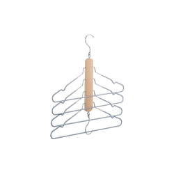 relaxdays Mehrfach-Kleiderbügel Mehrfach Kleiderbügel Holz