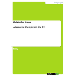 Alternative therapies in the UK