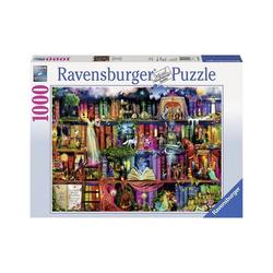 Ravensburger Puzzle Puzzle 1000 Teile, 70x50 cm, Magische, Puzzleteile
