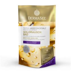 DERMASEL Totes Meer Badesalz Goldrausch 1 P