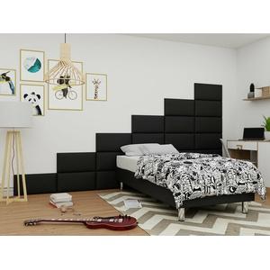 Boxspringbett Verbel 80 90 120 Einzelbett Schlafzimmer für Wandpaneel Kinderstil