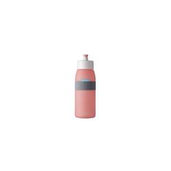 Mepal Trinkflasche Trinkflasche Sporttrinkfasche Ellipse, Trinkflasche rosa