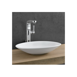 neu.haus Waschbecken, Jarvis Keramik Aufsatzwaschbecken natur